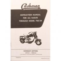 Eagle Instruction Manual - 1955-57 Cushman Scooter