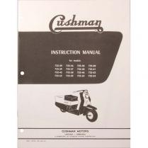 Cushman 720 Series Instruction Manual - 1957-65 Cushman Scooter