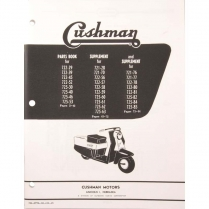 1957-59 720 Series Parts Book - 1957-65 Cushman Scooter