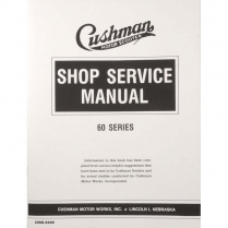 Shop Service Manual - 60 Series - 1949-56 Cushman Scooter