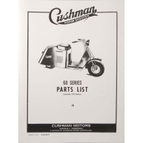 1949-56 60 & 710 Series Parts Book - 1949-56 Cushman Scooter