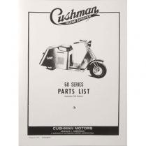 Cushman 60 & 710 Series Parts Book - 1949-56 Cushman Scooter