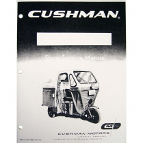 Shop Manual - Truckster - 1952-59 Cushman Scooter