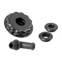 Oil Filler/Breather Cap - Low Profile