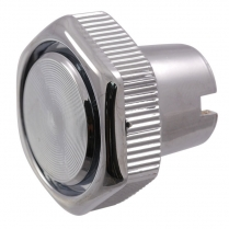 Windshield Wiper Knob - Chrome