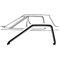 Roof Rail Seals - Ranchero - Torino - 1972-76 Ford Car