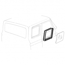 Quarter Window Seal - 1974-79 Ford Truck