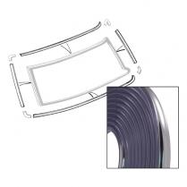 Chrome Plastic Flexible Molding