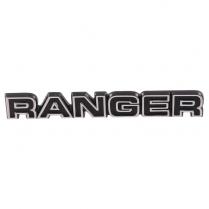 Glove Box Name Plate - Ranger - 1977-79 Ford Truck, 1977-79 Ford Bronco