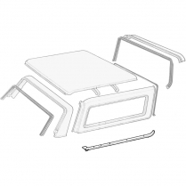 Removable Roof Side Panel Seals - 1978-79 Ford Bronco