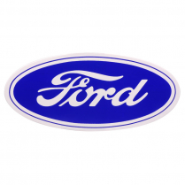 17 INCH FORD OVAL DECAL