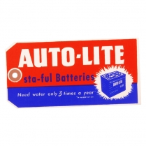 Tag - Sta-Ful Autolite Battery - 1960-78 Ford Truck, 1960-70 Ford Car