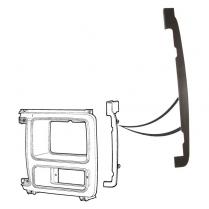 Headlamp Door Shield