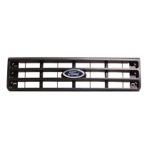 Grille | Black - Genuine Ford - 1987-91 Ford Truck, 1987-91 Ford Bronco
