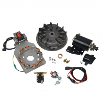 Universal Electric Starter Kit - Cast Iron Engine - 1949-65 Cushman Scooter