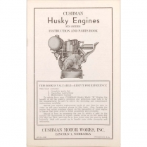 Industrial Husky Engine Instruction and Parts Book - 1942-65 Cushman Scooter