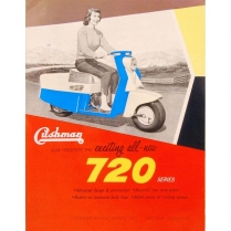 Brochure - 1957 Scooters  - 1957-58 Cushman Scooter