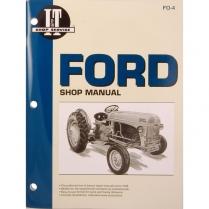 9N, 2N, 8N Ford Shop Manual - 1939-52 Ford Tractor