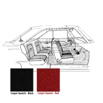 Carpet - 1960-65 Ford Falcon Car