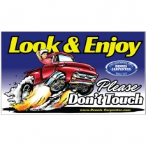 Magnet - Look and Enjoy - Please Don't Touch - with Truck - All