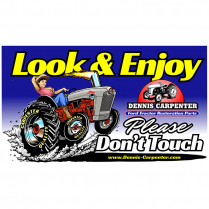 Magnet - Look and Enjoy - Please Don't Touch - with Tractor - All