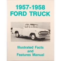 Book - Facts Manual - Truck - 1957-58 Ford Truck