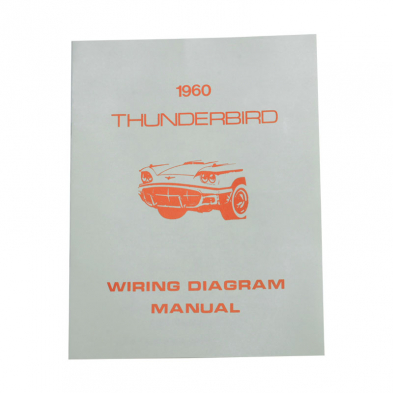 Wiring Diagram - 1960 Thunderbird Ford Car - Product ...
