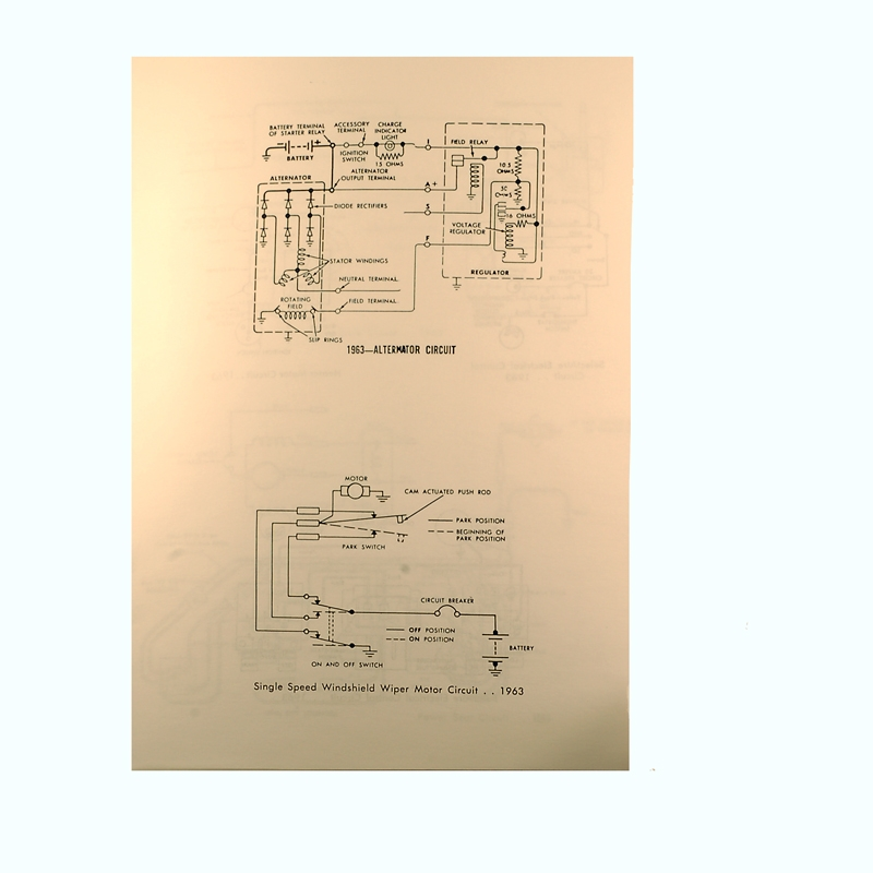 Book - Wiring Diagram Manual - Galaxie - 1963 Ford Car ...