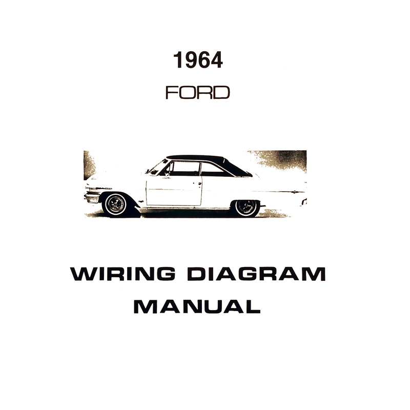 Book - Wiring Diagram Manual - Galaxie for 1964 Ford Cars   Dennis  Carpenter Ford Restorations   Speaker Wiring Diagram 1964 Galaxie      Dennis Carpenter