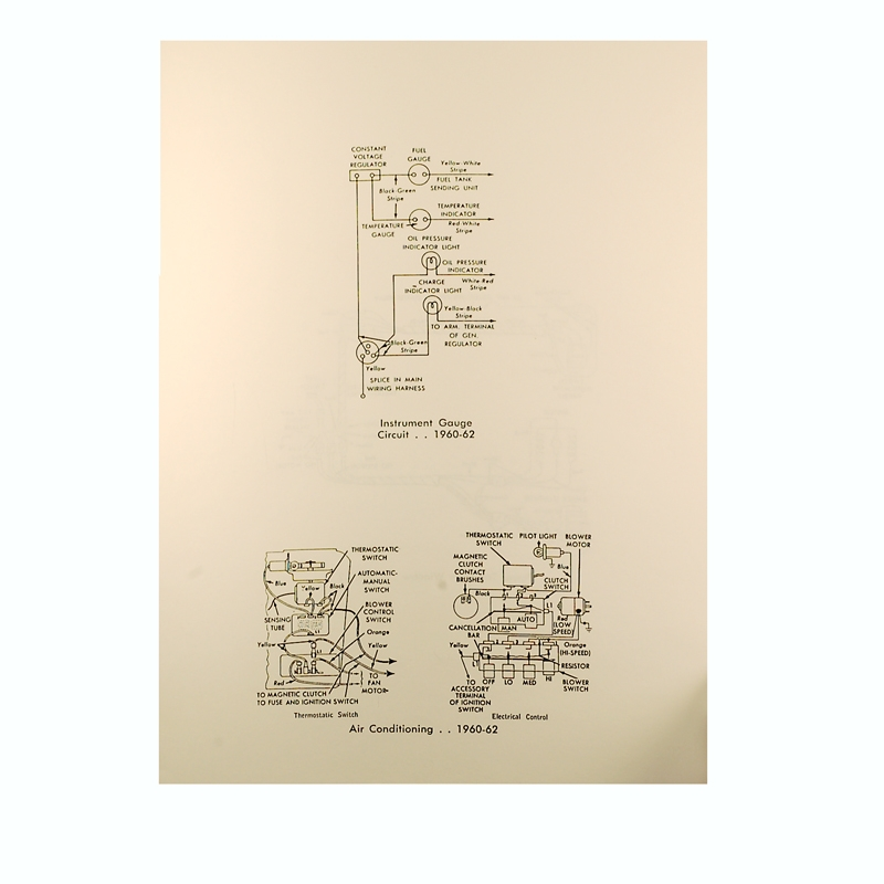 Book - Wiring Diagram Manual - Falcon - 1960-62 Ford Car