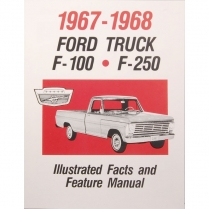 Book - Facts Manual - Truck - 1967-68 Ford Truck