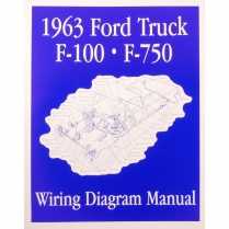 Book - Wiring Diagram Manual - Truck - 1963 Ford Truck