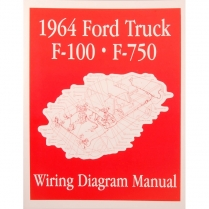 Book - Wiring Diagram Manual - Truck - 1964 Ford Truck