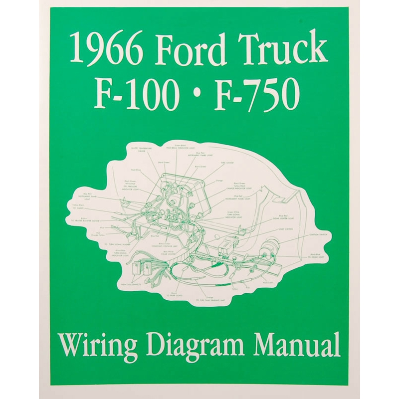 book  wiring diagram manual  truck  1966 ford truck  product details  dennis carpenter ford restoration parts for trucks broncos cars tractors