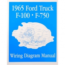 Book - Wiring Diagram Manual - Truck - 1965 Ford Truck