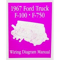 Book - Wiring Diagram Manual - Truck - 1967 Ford Truck