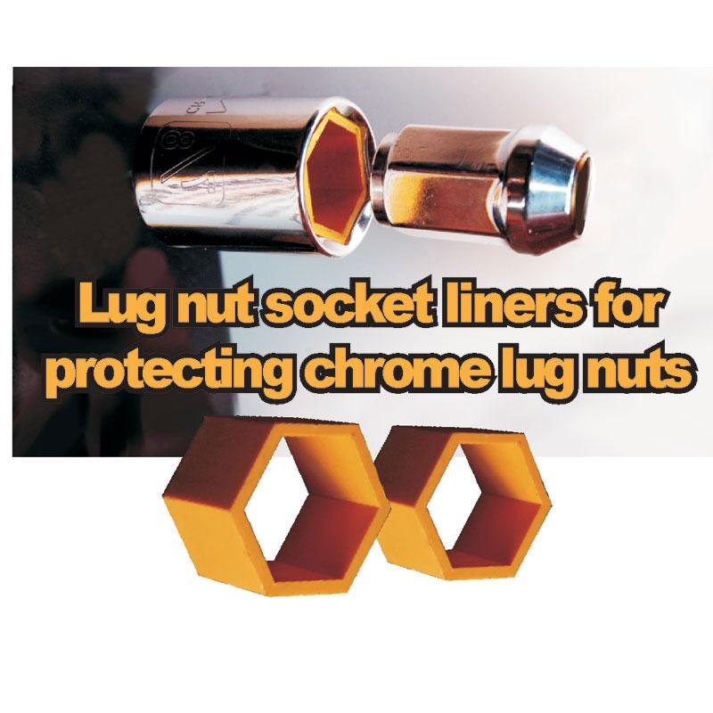 Plastic Lug Nut Protectors - 1966-77 Ford Bronco