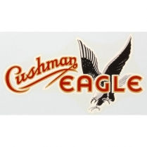 Eagle Decal - Adhesive Sticker - 1950-54 Cushman Scooter