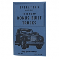 Operator's Manual - 1948 Ford Truck