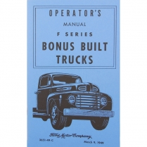 Operator's Manual - 1949 Ford Truck