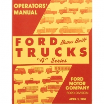 Operator's Manual - 1950 Ford Truck