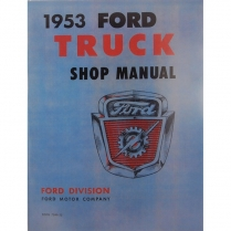 Shop Manual - 1953 Ford Truck