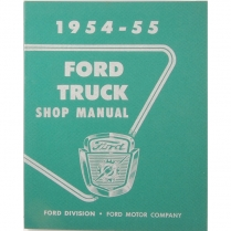 Shop Manual - 1954-55 Ford Truck