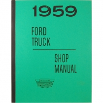 Shop Manual - 1959 Ford Truck