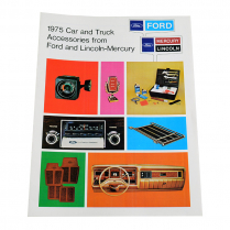 Sales Brochure - Accessories - 1975 Ford Truck, 1975 Ford Car