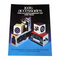 Sales Brochure - Accessories - 1976 Ford Truck, 1976 Ford Car