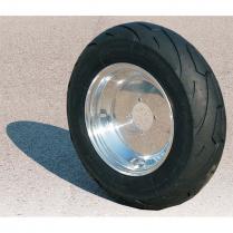 Aluminum Wheel w/ Tire 10