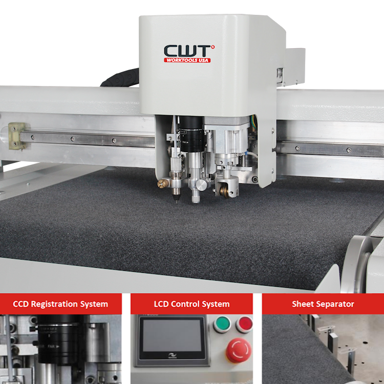 LST Flatbed Cutter w/Computer & OptiScout