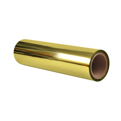 "12.60""x984'x3"" core 1.0 mil Gold Printable Sleeking Foil"