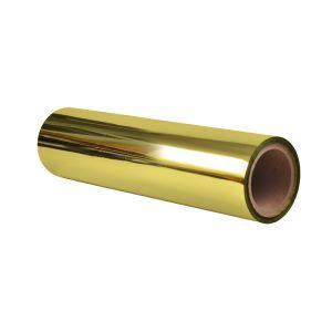 "12""x1000'x3"" core 1.0 mil Gold Printable Sleeking Foil"